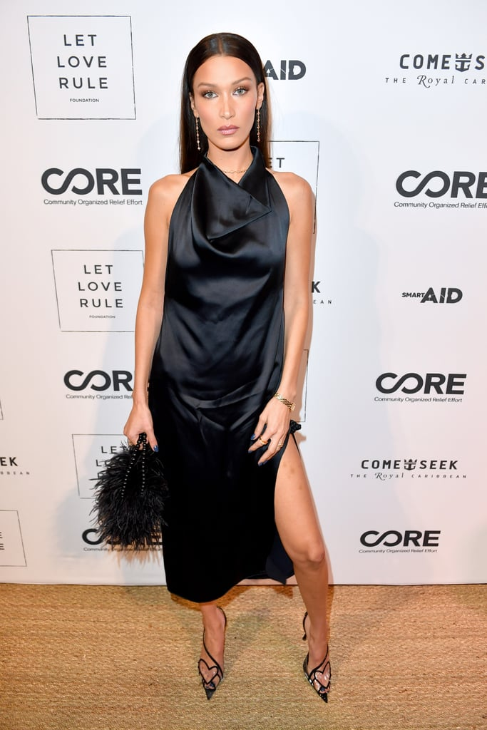 Bella Hadid at the Core x Let Love Rule Benefit in Miami