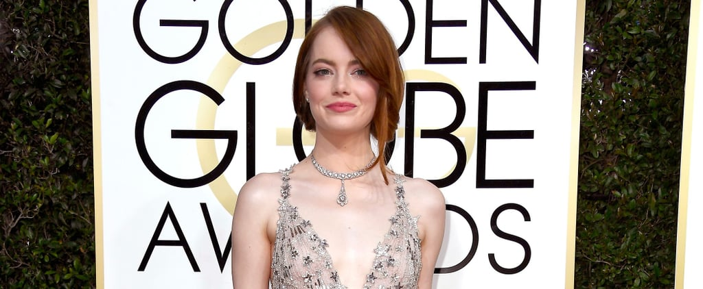 Emma Stone Has the Cutest Date at the Golden Globes: Her Younger Bro