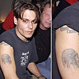 "In 1989, Johnny Depp underwent the needle to get ""Winona Forever"" tattooed on his right arm. After the duo's split, it looked like Johnny had it changed to ""Wino Forever."""