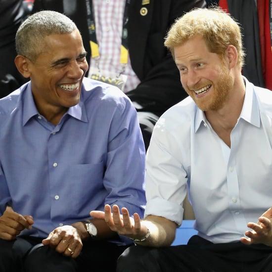 Barack Obama and Prince Harry BBC Radio 4 Today Interview