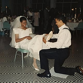 Michelle Obama's Throwback Wedding Photo With Barack Obama