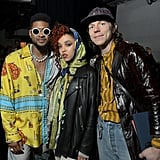 Usher, FKA Twigs, and Matt Shultz at the 2020 Sony Music Grammys Afterparty