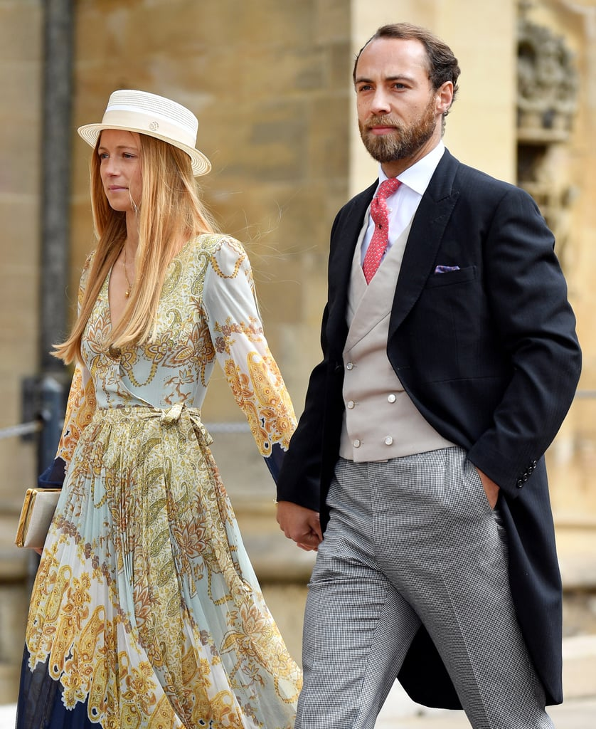 Celebrity Wedding Guest Outfits 2019: James Middleton Girlfriend H&M Dress At Royal Wedding 2019