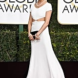 Sienna Miller at the 2017 Golden Globe Awards