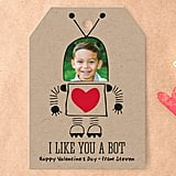 Personalized Valentine's Day Cards and Stickers