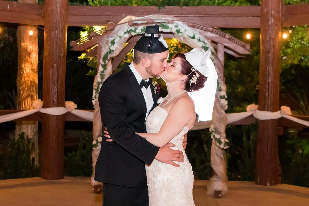 Autumn Wedding With Disney Centrepieces