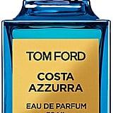 Tom Ford Costa Azzurra Eau de Parfum ($225) Notes: Driftwood, seaweed, and lemon
