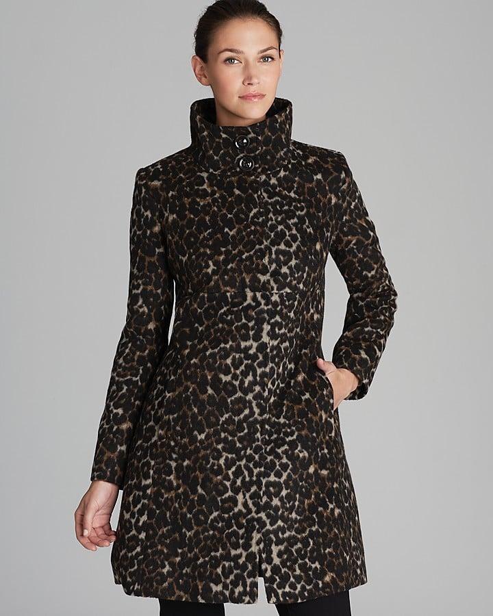 Via Spiga Leopard Coat ($200, originally $333)