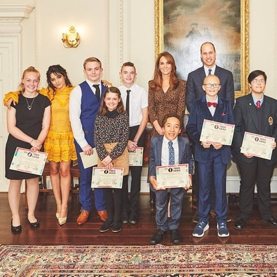 Camila Cabello With Prince William and Kate Middleton Photos