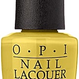 "Spring Nail Color Trend: ""Dandelion"" Yellow"