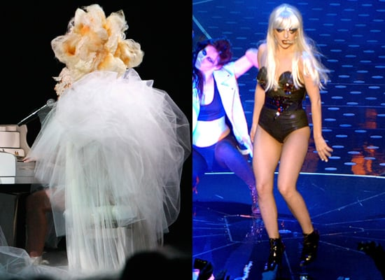 Photos of Lady Gaga on Stage for Monsters Ball Tour
