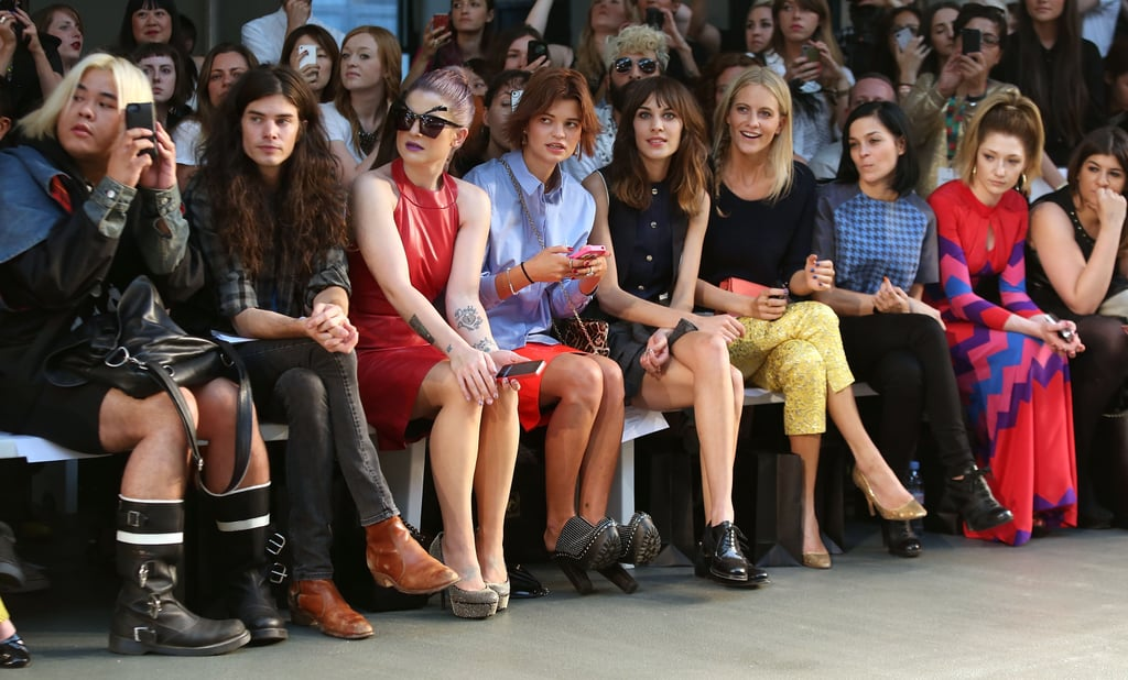 Front Row at House of Holland