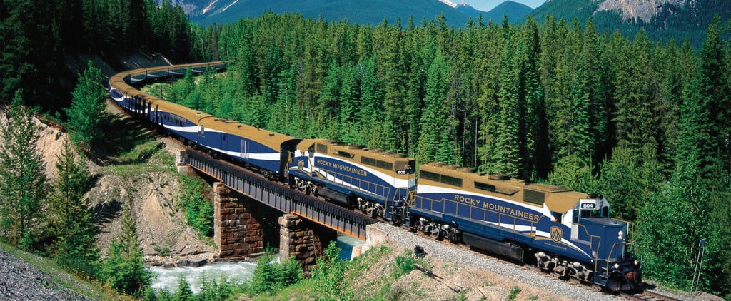 This Picturesque Train Trip Through the Canadian Rockies Has Ridiculous Views