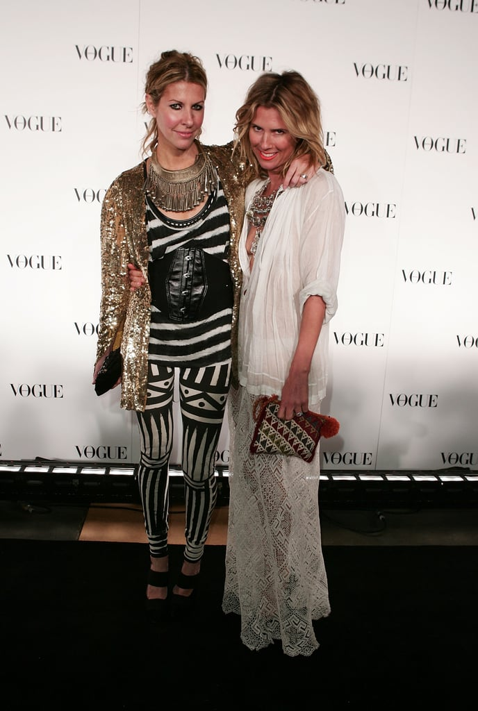 Sarah-Jane Clarke and Heidi Middleton at the Vogue Australia 50th Anniversary Dinner