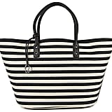 Charlotte Ronson Striped Tote