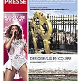 The front page of La Presse, from Canada, on July 23.