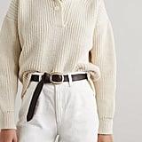 Black & Brown Harper Leather Belt