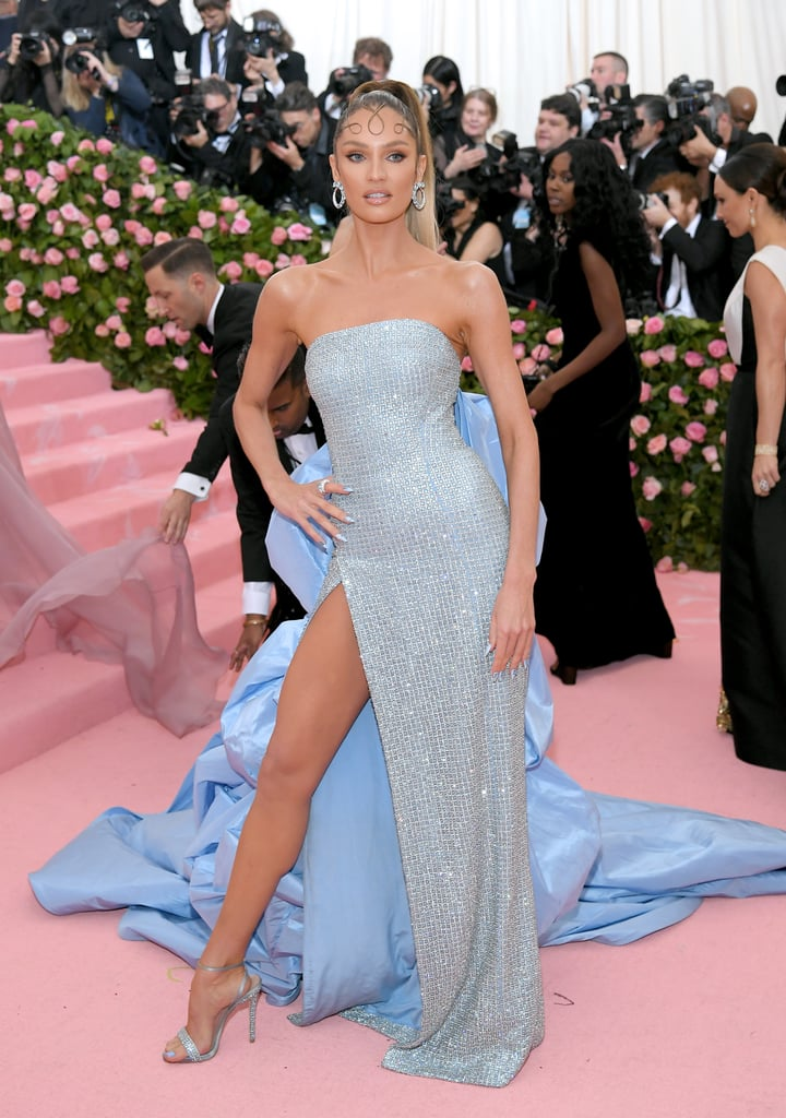candice swanepoel at the 2019 met gala  sexiest met gala
