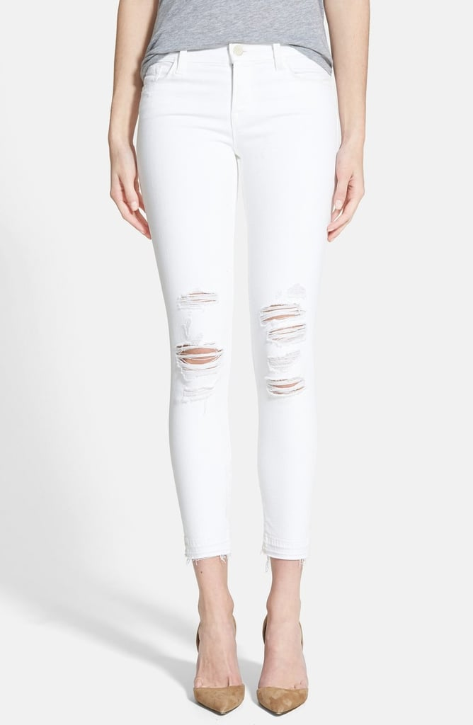 J Brand Women's Low Rise Crop Jeans