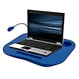 Blue LED Light Lap Desk