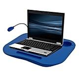 Blue LED Light Lap Desk