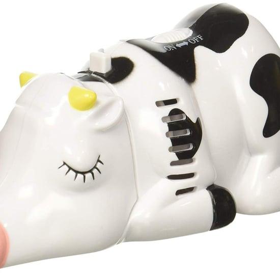 Cordless Cow Tabletop Vacuum