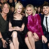 Keith Urban, Nicole Kidman, Kelsea Ballerini, and Morgan Evans