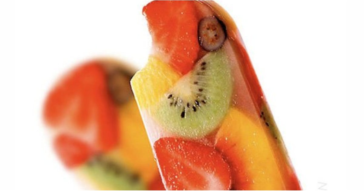 Rainbow Fruit Ice Pops to Beat the Spring and Summer Heat
