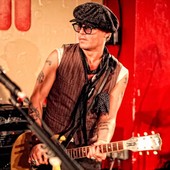Johnny Depp Performs With Alice Cooper at 100 Club Pictures