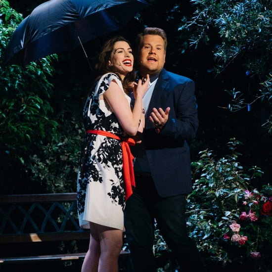 Anne Hathaway and James Corden Soundtrack to Rom-Com Video