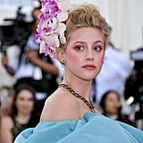 Lili Reinhart's Monochromatic Pink Makeup Look at the Met Gala