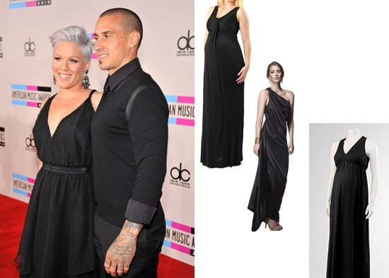 Pictures of Pregnant Pink Performing at American Music Awards