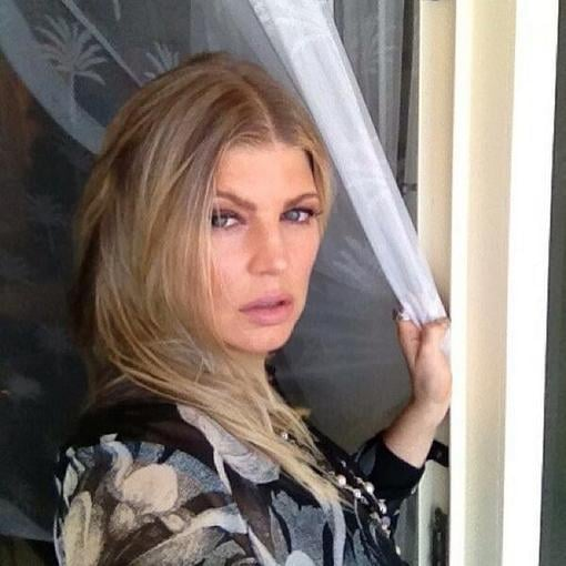 Fergie shared a close-up. Source: Twitter user Fergie