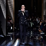 Olivier Rousteing Took a Bow in His Iconic Blazer