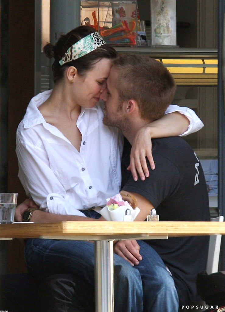 Ryan Gosling and Rachel McAdams shared a sweet, PDA-filled Toronto lunch back in August 2008.