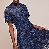 Shoshanna Blanche Embroidered Dress