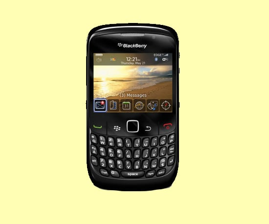The Latest From RIM — the BlackBerry Curve 8520