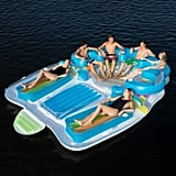 7-Person Tropical Tahiti Floating Island Pool Float