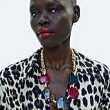 Zara Oversize Bead Necklace