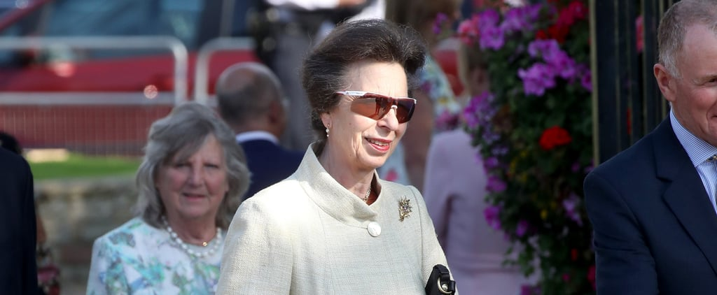 Princess Anne Wearing Adidas Sunglasses