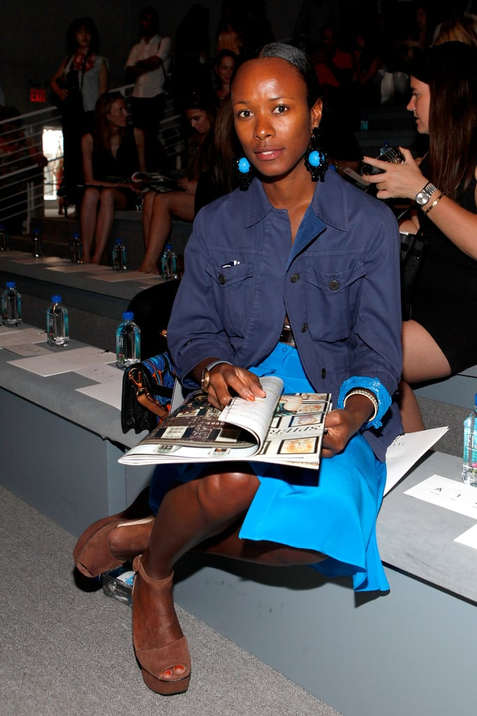 Shala Monroque, Garage Jain Fashion Editor