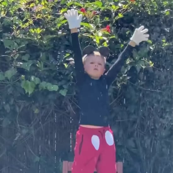 Boy Performs Disney's Fantasmic Show in Backyard | Video