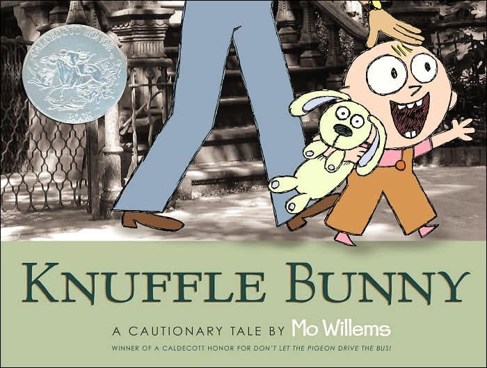 Age 3: Knuffle Bunny