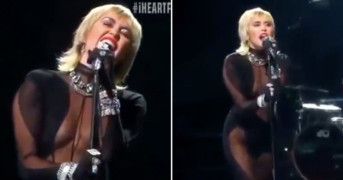 "I've Been Thinking About Miley Cyrus's ""Heart of Glass"" Performance For a Full Week, No Joke"