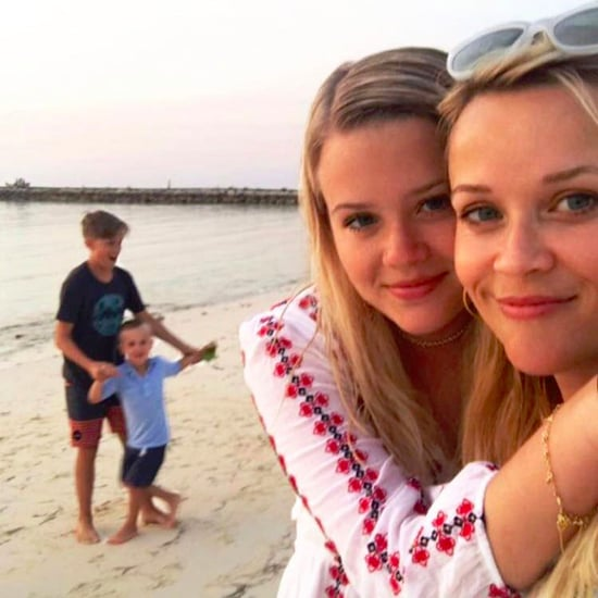 Reese Witherspoon and Family at the Beach Photo April 2017