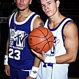 As an added bonus, here's a picture of Donnie and Mark Wahlberg from 1991. You're welcome.