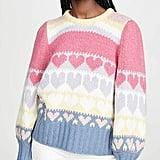 LOVESHACKFANCY Shirelle Pullover Sweater