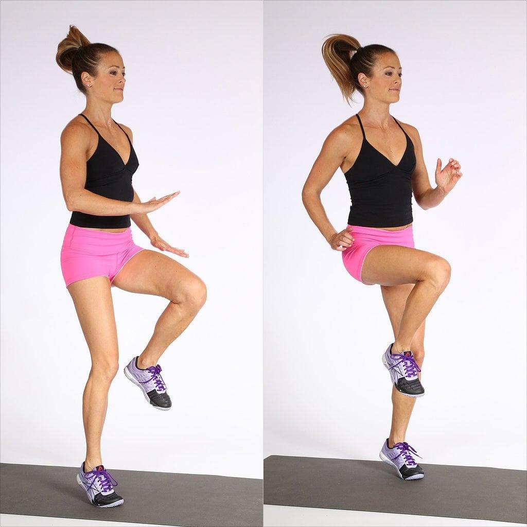 How To Do High Knees Popsugar Fitness