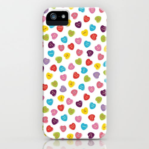 Candy hearts case ($35) for iPhone models and Samsung Galaxy S4