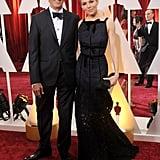 Sienna Miller's Oscars date was her dad, Edwin Miller.